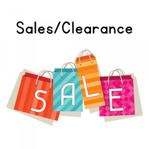 Clearance & Sales